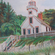 Mission Point Lighthouse Art Print