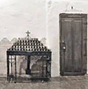 Mission San Diego - Confessional Door Art Print