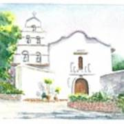 Mission San Diego Art Print