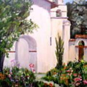 Mission San Juan Batista Art Print