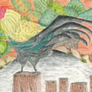 Mission San Juan Bautista Garden Art Print
