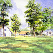 Mission San Luis Art Print