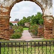 Mission San Luis Rey Carriage Arch Art Print