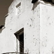 Mission Stucco Building Art Print