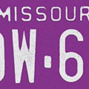 Missouri '78 Art Print