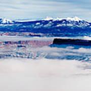 Mist Over Canyonlands I Art Print