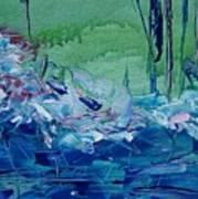 Mistery Pond Art Print