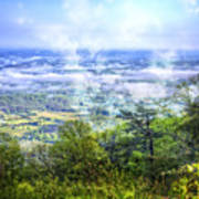 Mists In The Valley Art Print