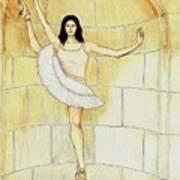 Misty Vi - La Ballet Statuette Art Print