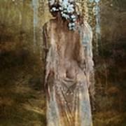 Misty Woods Art Print