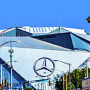 Mercedes Benz Stadium Art Print