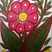 Mithila Bloom Art Print