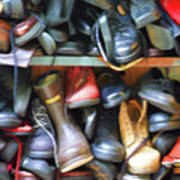 Mix Of Shoes Nyc Art Print