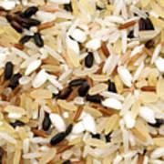 Mixed Rice Art Print