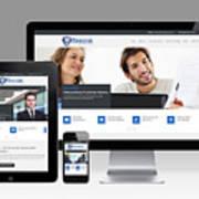 Mjollnir Group Inc - Responsive Website Art Print