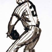 Mlb The Pitcher Art Print