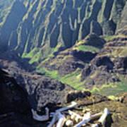 Mmm-119 Sacred Hawaiian Chieftans Resting Place Honopu Arch Art Print