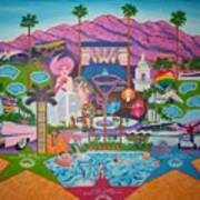 mmmm... Palm Springs Art Print