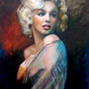 M.Monroe Art Print