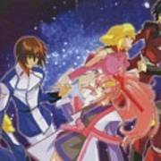 Mobile Suit Gundam Seed Destiny Art Print