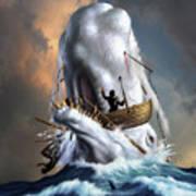Moby Dick 1 Art Print