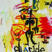Moca 1 Art Print