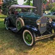 1928 Model A Ford  Art Print