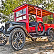 Model T Delivery Art Print