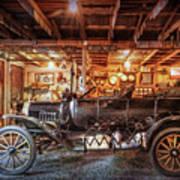 Model T Ford Art Print