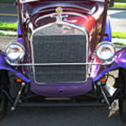 Model T Ford Front End 2 Art Print