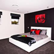 Modern Bedroom Art Print
