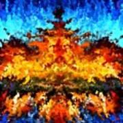 Modern Composition 11 Art Print