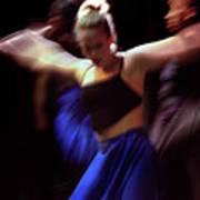 Modern Dance Motion Art Print