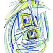 Modern Drawing Forty Art Print