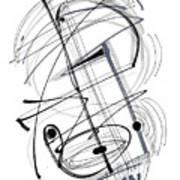 Modern Drawing Thirty-eight Art Print
