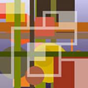 Modern Harmonious Abstract Art Print