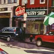 Modern Pastry Shop Boston Art Print