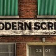 Modern Screw Art Print