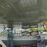 Modern Subway Station Design In Taiwan Art Print