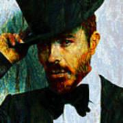 Modern Van Gogh Xiii Art Print