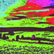 Modified Landscape D4 Art Print