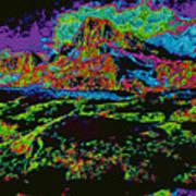 Modified Mountain D5b Art Print