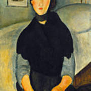Modigliani: Woman, 1918 Art Print