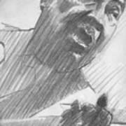 Mojo Man Art Print