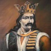 Moldavian Prince Stefan Cel Mare Art Print