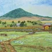Mole Hill Panorama Art Print