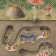 Mole Art Print