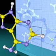 Molecular Design Art Print