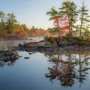 Molega Lake, Nova Scotia Art Print