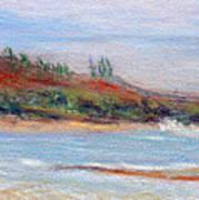 Moloa'a Beach Art Print